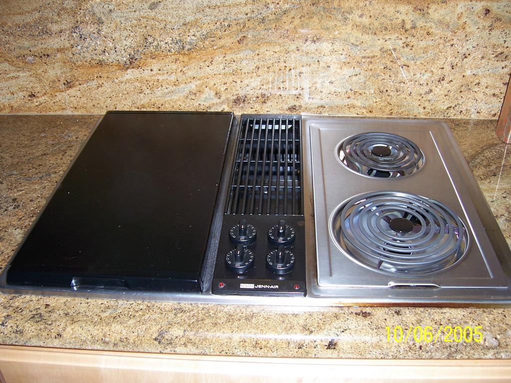Jenn air electric downdraft cooktop parts - Jenn Air Countertop Range Bestcountertops